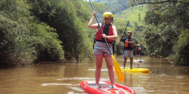 Stand up no rio no interior de SP - foto: Divulgação