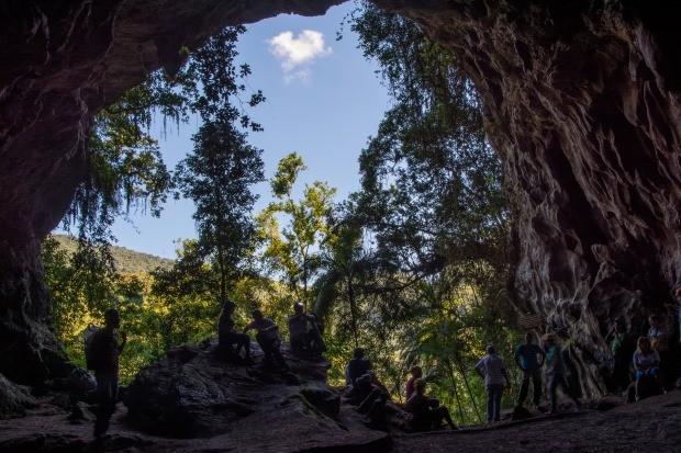 Caverna do Morro Preto, uma das cavernas mais legais do Petar