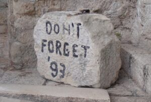 dont forget 93 mostar