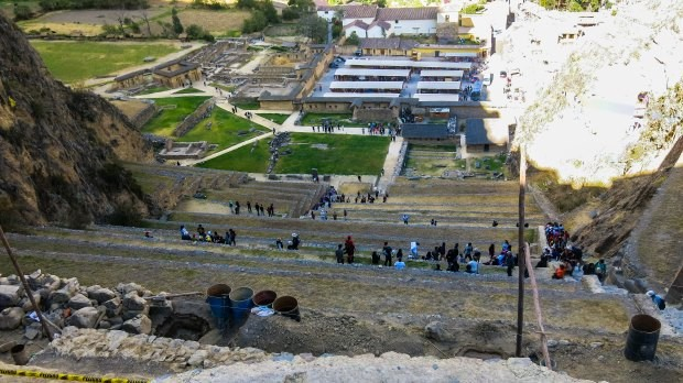 ollanta ollantaytambu perto cusco trem machu picchu foto ruinas arqueologicas peru
