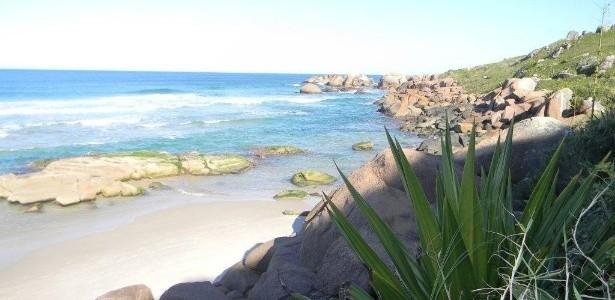 Vale a pena fazer a trilha até a praia da Galheta - foto: Brasil Naturista