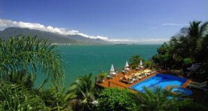 Hotel romântico em Ilhabela