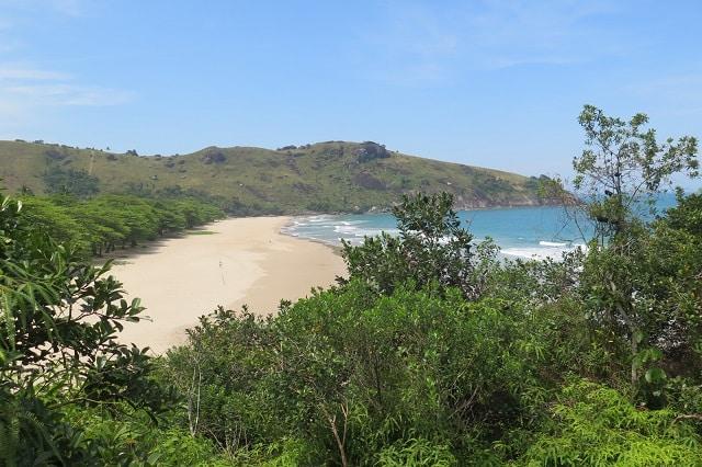 Praia mais bonita em Ilhabela-sp
