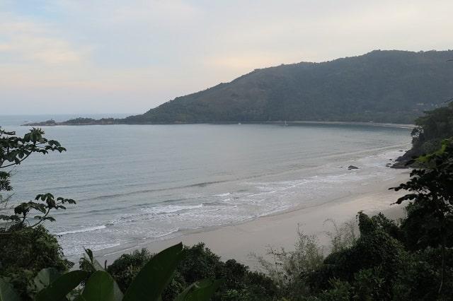 Praias do litoral de SP