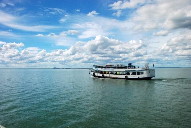 Embarcação Vapor do Vinho em Casa Nova, na Bahia - Divulgação