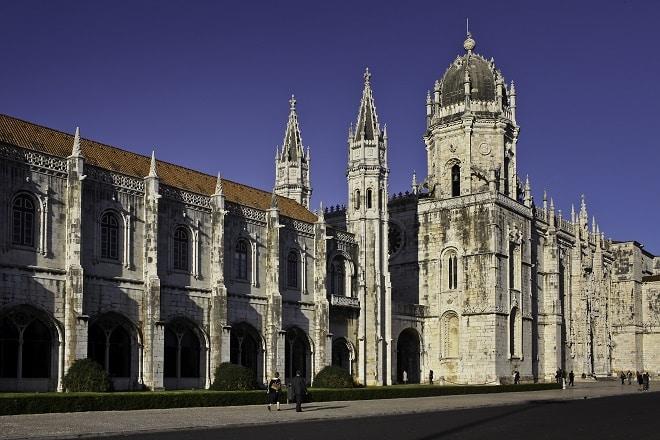 Jeronimos, em Belém - Lisboa, Portugal