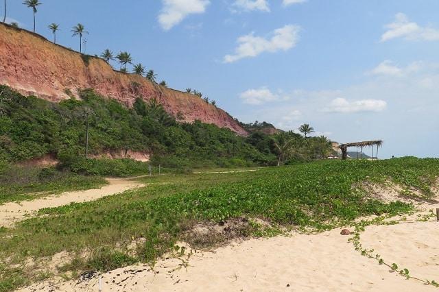 Praias no litoral da Bahia