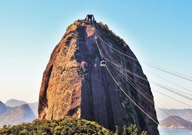 O bondinho do Pão de Açúcar é passeio imperdível na viagem ao Rio.