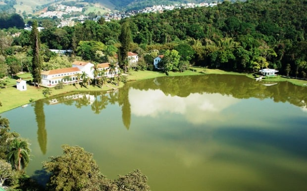 O parque de São Lourenço visto do alto - Divulgação