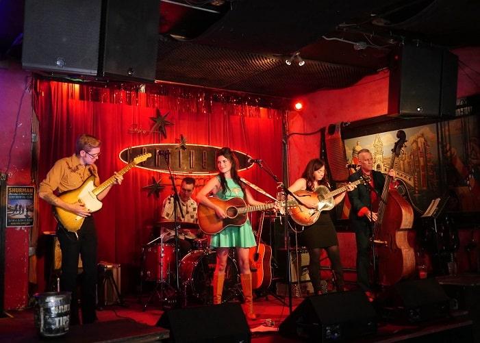 O Continental Club, em Austin, é um dos mais antigos bares da cidade.