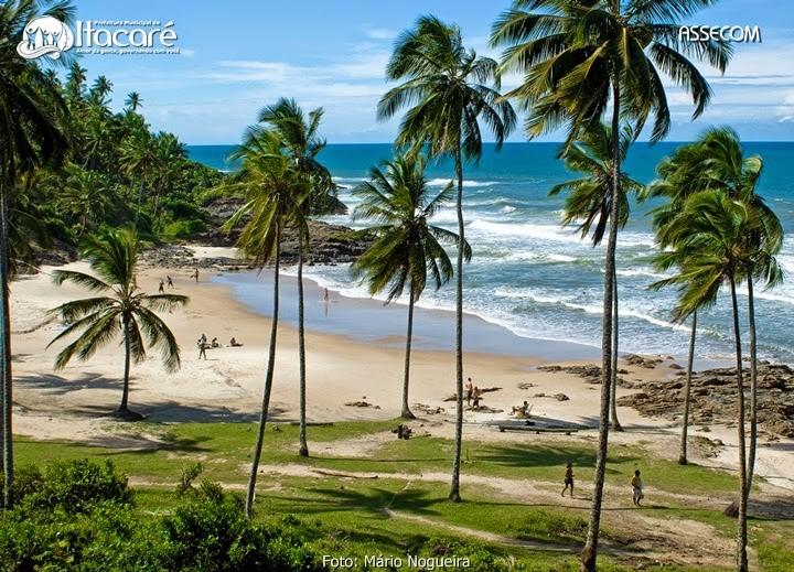 Itacaré um dos destinos mais legais para passar o Réveillon na Bahia, mistura festas e paisagens incríveis - foto: Divulgação