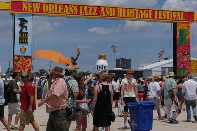 O New Orleans Jazz Festival é um dos maiores eventos do gênero
