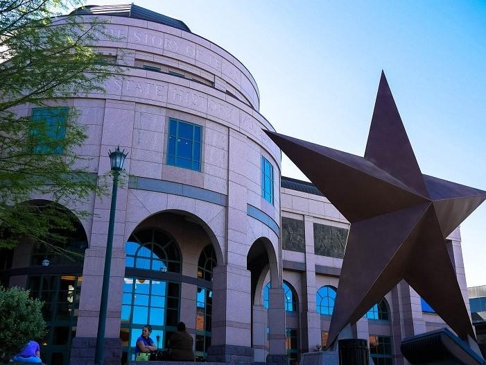 O museu é uma ótima forma de conhecer mais sobre o Texas.