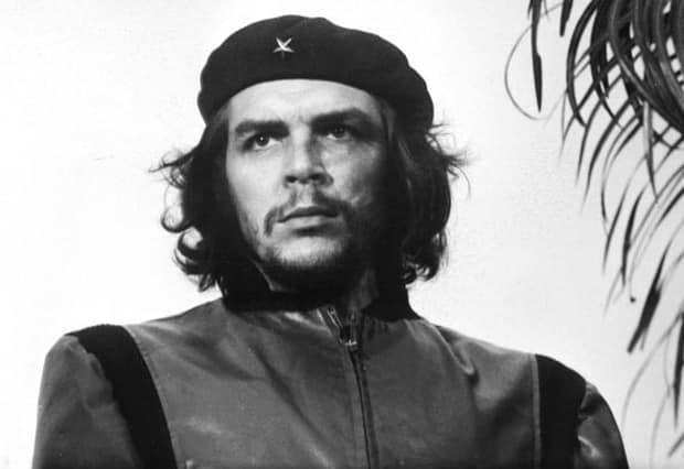 Reprodução da foto mais conhecida de Che Guevara