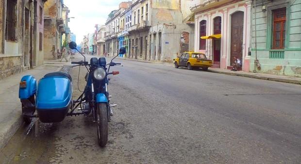A variedade de transporte em Cuba é impressionante