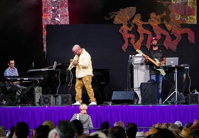 Tenda de Blues, no festival de Jazz