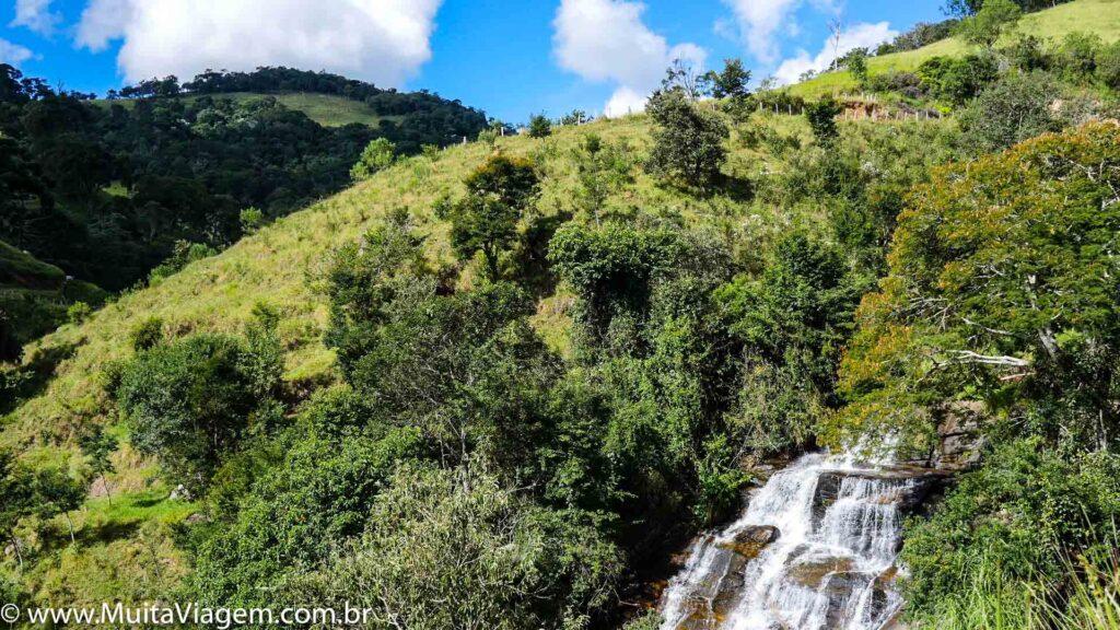 Cachoeira do Jericó, em Cunha, SP