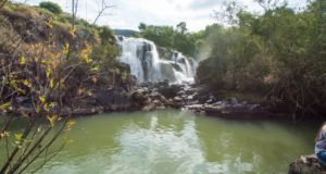 Entre outras coisas par fazer em Poços de Caldas, está conhecer cachoeiras como a Véu de Noiva