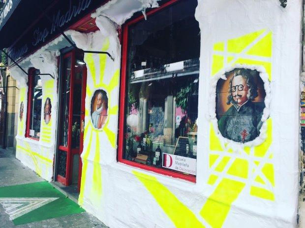 Huertas, onde o moderno e a tradição se misturam. Foto: Luiza Sahd