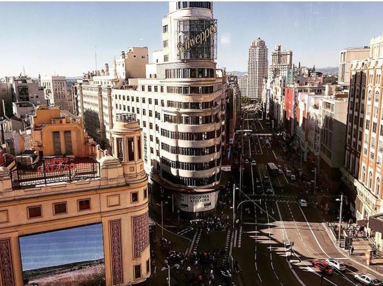 Em Callao fica um dos pontos mais conhecidos de Madrid