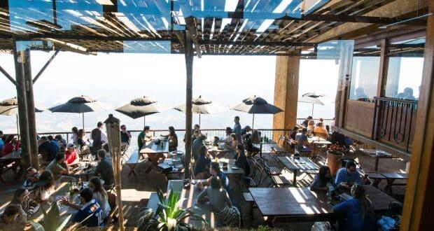 O Topo do Mundo é um restaurante romântico para comer fondue em BH