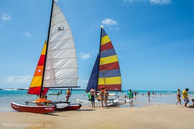 Entre as coisas para fazer em Maceió, está ver praias lindas como a do Francês