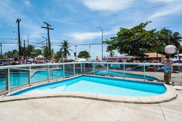 Entre os hotéis baratos de Maceió, um dos melhores lugares para ficar é o Hotel Praia Bonita