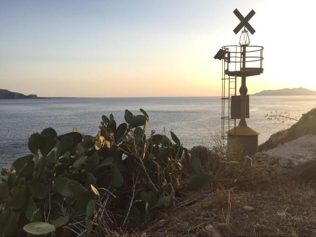 Nessa parte das praias da Itália, não deixe de ver o pôr do sol