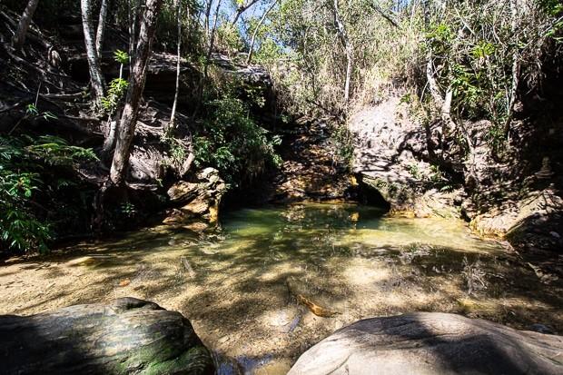 A cachoeira de Sobradinho é uma das mais famosas da região no sul de Minas Gerais