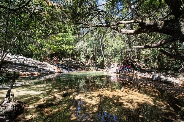 O sul de Minas tem várias cachoeiras, como na região de São Thomé das Letras