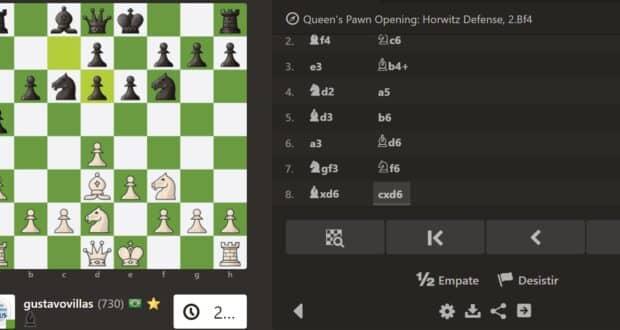 o Chess.com é um dos melhores lugares para aprender xadrez na internet